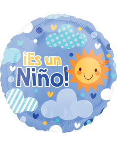 "18""Es Un Nino Blue Sky"