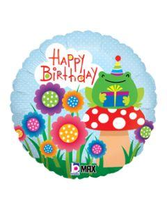 """18"""" Garden Friends Birthday Pkg"""