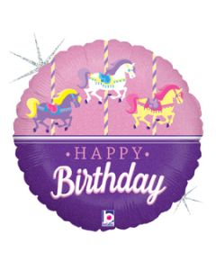 "18"" Birthday Carousel Pkg"