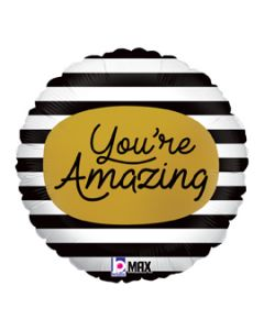 "18"" You're Amazing! Gold Pkg"