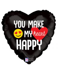 "18"" You Make My Heart Happy Pkg"