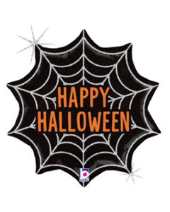 "18"" Sparkling Halloween Web Pkg"