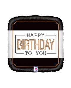 "18"" Classic Birthday Pkg"