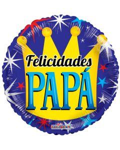 """18"""" Felicidades Papa Corona"""