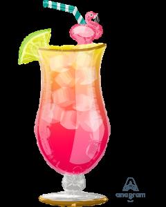 "41"" Flamingle Tropical Drink"