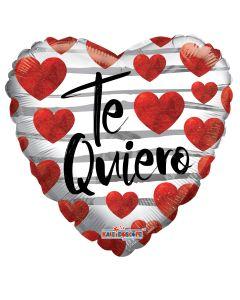 "18"" Te Quiero Floating Hearts"