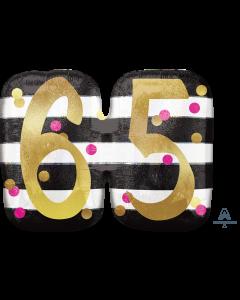 "25""Pink & Gold Celebration 65"