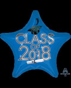 """18"""" Class of 2018 - Blue"""
