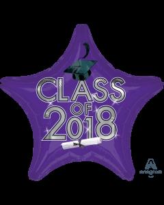 "18"" Class of 2018 - Purple"