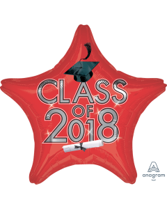 """18"""" Class of 2018 - Red"""