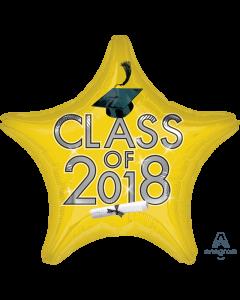 "18"" Class of 2018 - Yellow"