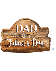 "25"" Father's Day Wood Marquee"