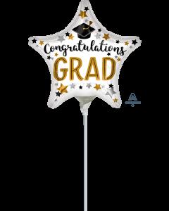 """9"""" Congrats Grad Star"""