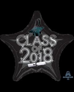 """18"""" Class of 2018 - Black"""