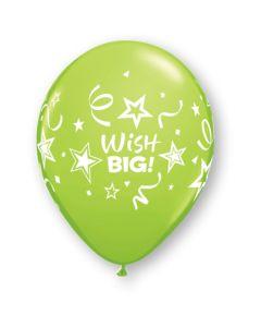 """11"""" Wish Big Stars & Streamers Assort 50ct--"""