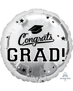 "18"" Congrats Grad Silver"