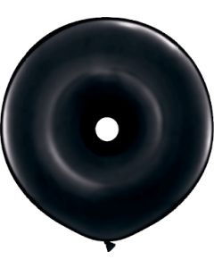 "16"" Donuts Black 25ct"