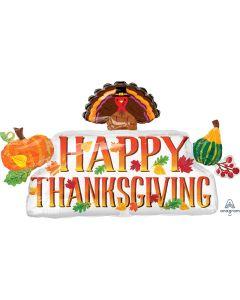 "39"" Thanksgiving Banner"