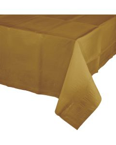 "Metallic Gold Tablecover 54""X108"""
