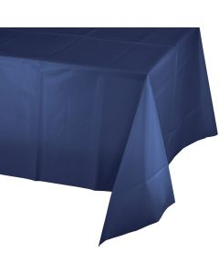 "Navy Blue Tablecover 54""X109"
