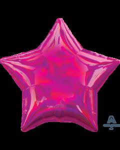 "19""Iridescent Magenta Star"