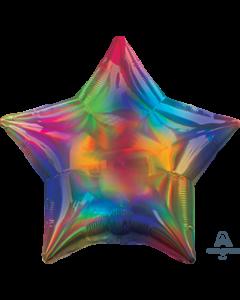 "19""Iridescent Rainbow Star"