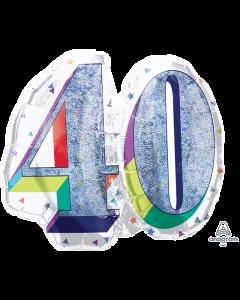 """26""""Birthday Celebration 40"""