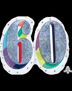 """26""""Birthday Celebration 60"""