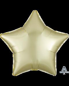 "18""Satin Luxe Pastel Yellow Star"