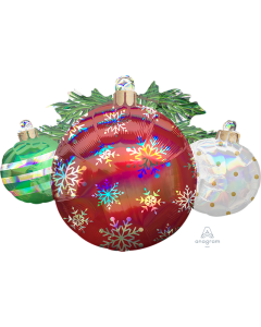 "35"" Iridescent Ornaments"
