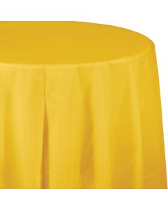 """Yellow Gold 82"""" Round Tablecover"""
