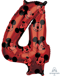 "26"" Mickey #4  Red"