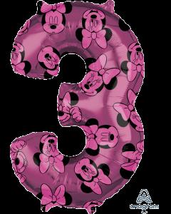 """26"""" Minnie #3 Pink"""