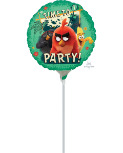 "9"" Angry Birds 2 Inflated with Cup & Stick"
