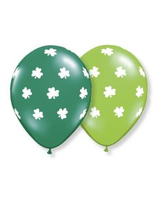 "11"" Big Shamrocks Asst.  50ct"