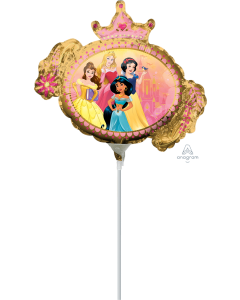 "14"" Princess Once Upon A Time  Inflated with Cup & Stick"