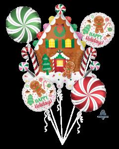 Gingerbread House Bouquet