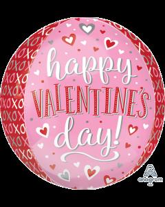 "16"" Whimsical XO Valentine Orbz"