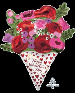 """35"""" Valentine's Day Rose Bouquet"""