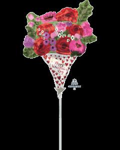 """14"""" Valentine's Day Rose Bouquet"""