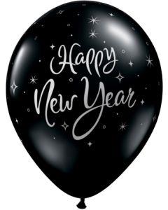 "11"" New Year Sparkle Bk 50 Ct"