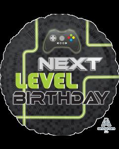 """18"""" Level Up Birthday Pkg"""
