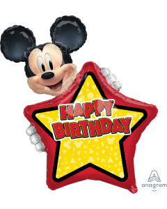 """30"""" Mickey Mouse Forever B'day"""