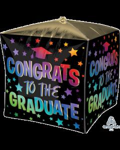 """16"""" Congrats Grad Ombre Cubez"""