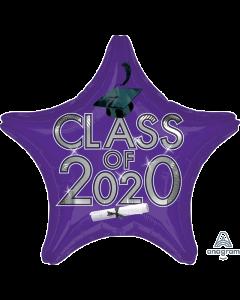 "18"" Class of 2020 - Purple"