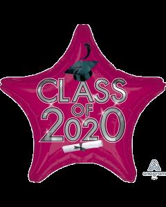 "18"" Class of 2020 - Burgundy"