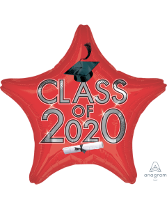"18"" Class of 2020 - Red"