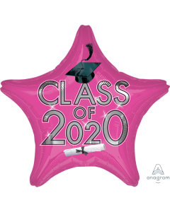 """18"""" Class of 2020 - Pink"""