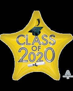 "18"" Class of 2020 - Yellow"