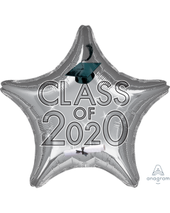"""18"""" Class of 2020 - Silver"""